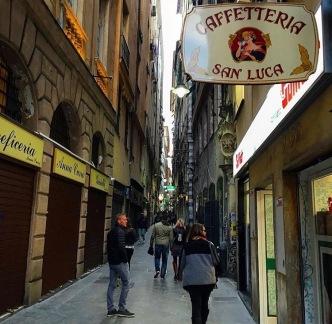 Ruelle typique de Gênes