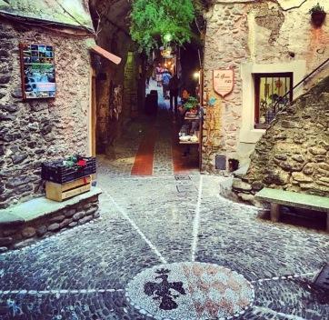 Ruelles médiévale de Dolceacqua