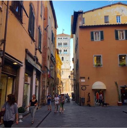 Via Fillungo, Lucques (Lucca)