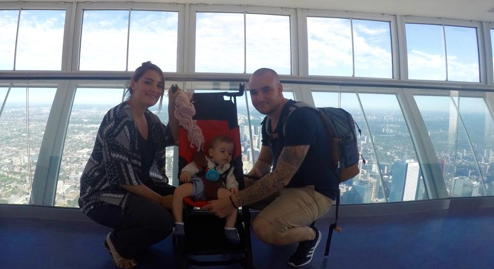 Au sommet de la Tour CN